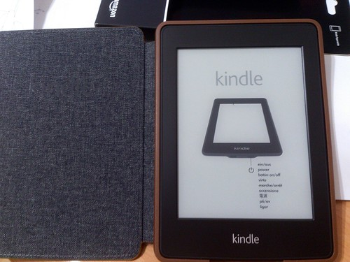 Kindle Paperwhite | by kenming_wang