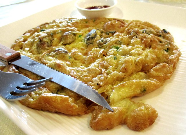 Flavours oyster omelette
