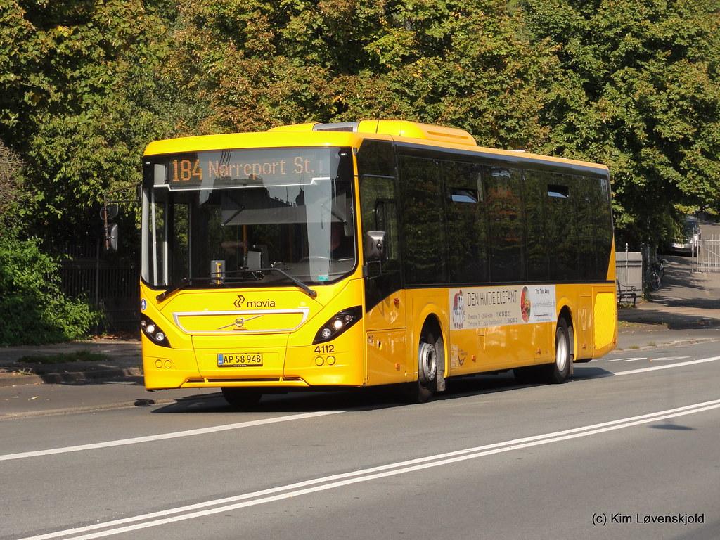 bus 184 movia