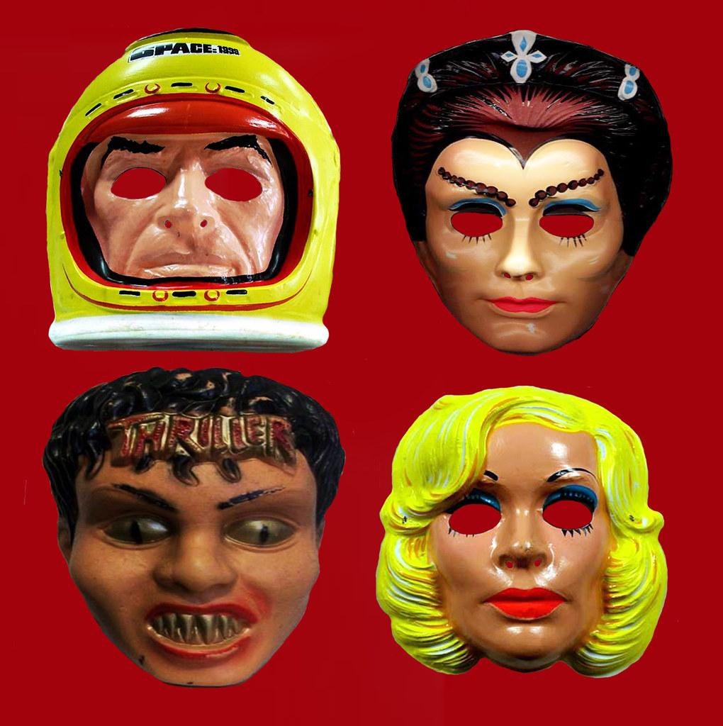 Space 1999 and Michael Jackson Thriller Halloween Masks 44…   Flickr