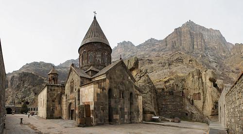 Geghard monastery. Armenia.