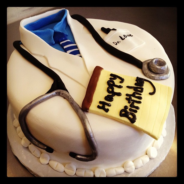 Birthday Cake For Psychiatrist Doctor Yahairam Flickr