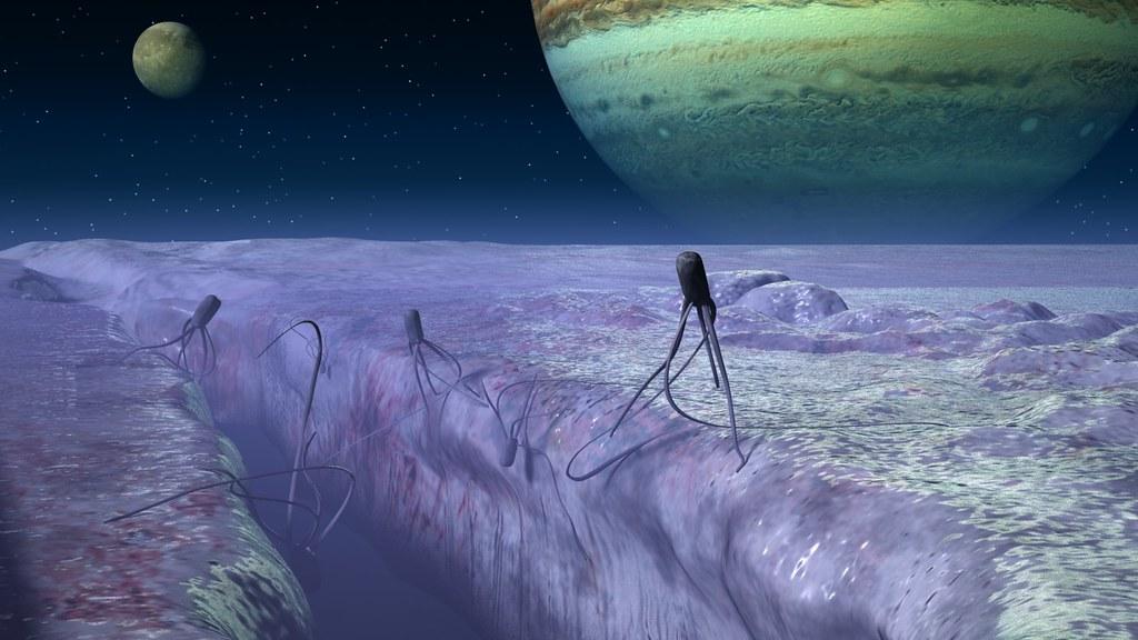 Europans Inhabitants Of Europa The Jupiter S Moon