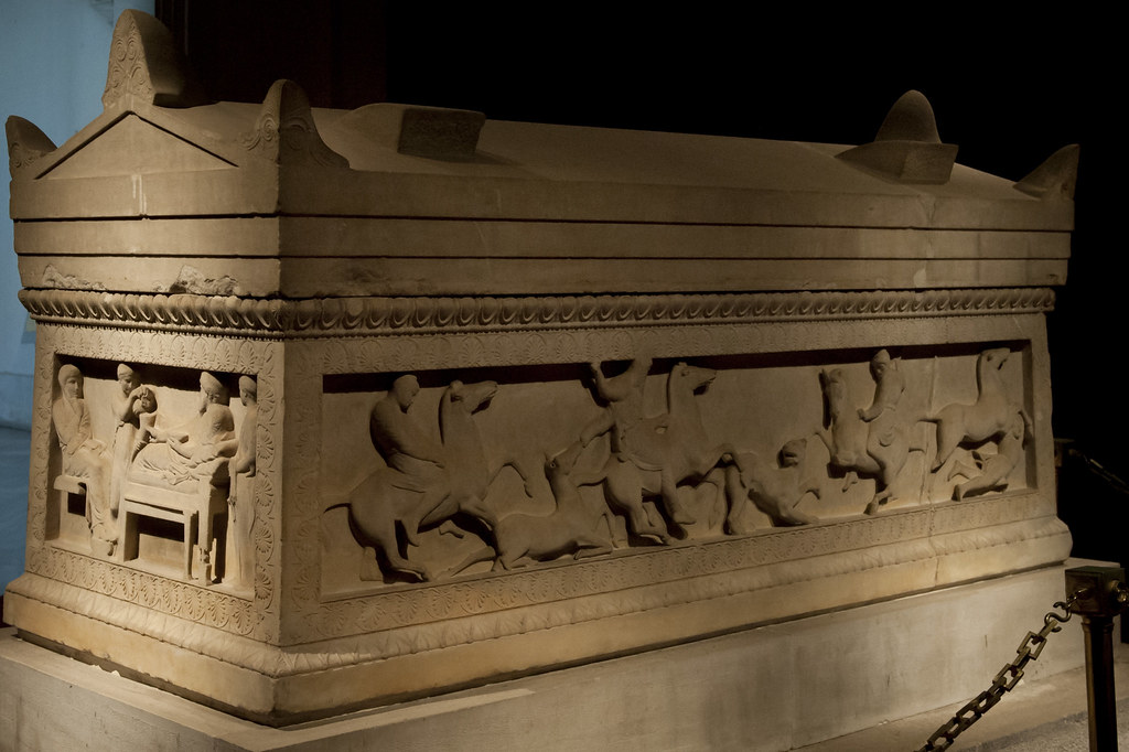 The Satrap Sarcophagus The Sarcophagus Has A Rectangular