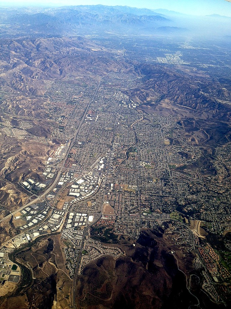 Aerial Photography Simi Valley And The 118 Freeway Flickr