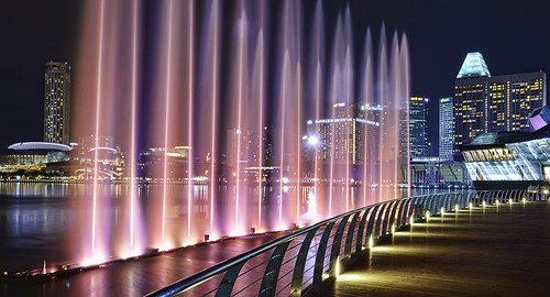 Experience Southeast Asia's largest light and water show... | by williamcho