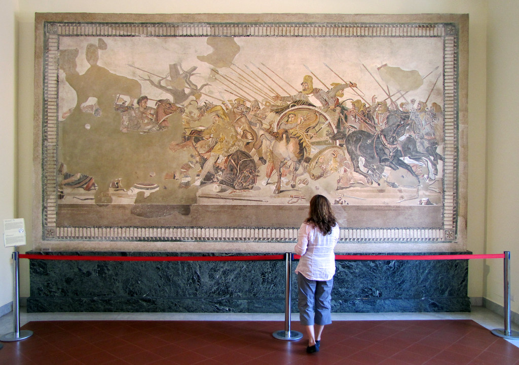 Alexander Mosaic With Beth Alexander Mosaic C 100 B C
