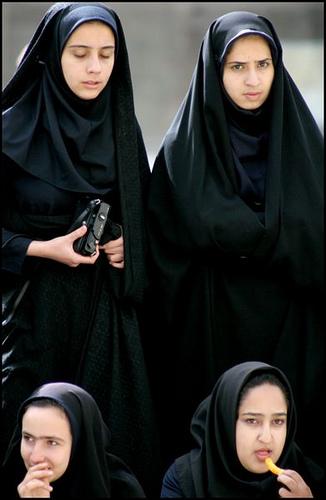 Arab teen wearing hijab masturbates her pussy 4