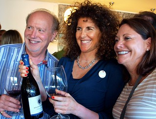 US Wine Importers enjoying Julia Kemper wine at the Adegga Summer Wine Market 2012 | by your-lisbon-guide