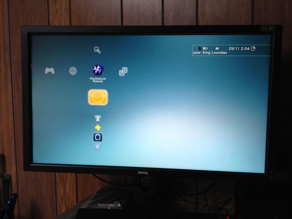 BenQ gaming monitor | PS3 Home Screen | Austin de Boer ...