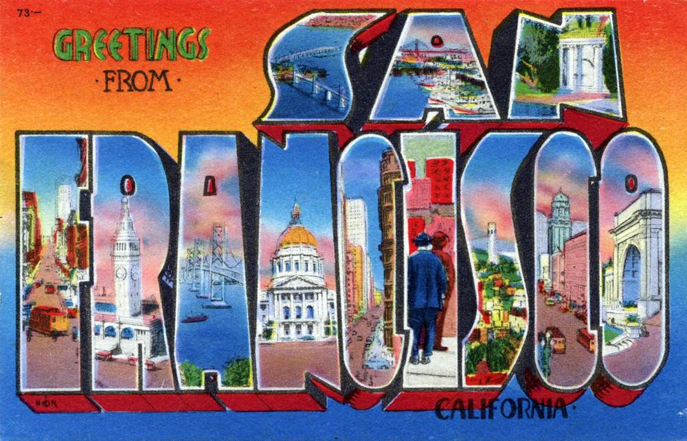 Greetings from san francisco california large letter po flickr greetings from san francisco california large letter postcard by shook photos m4hsunfo