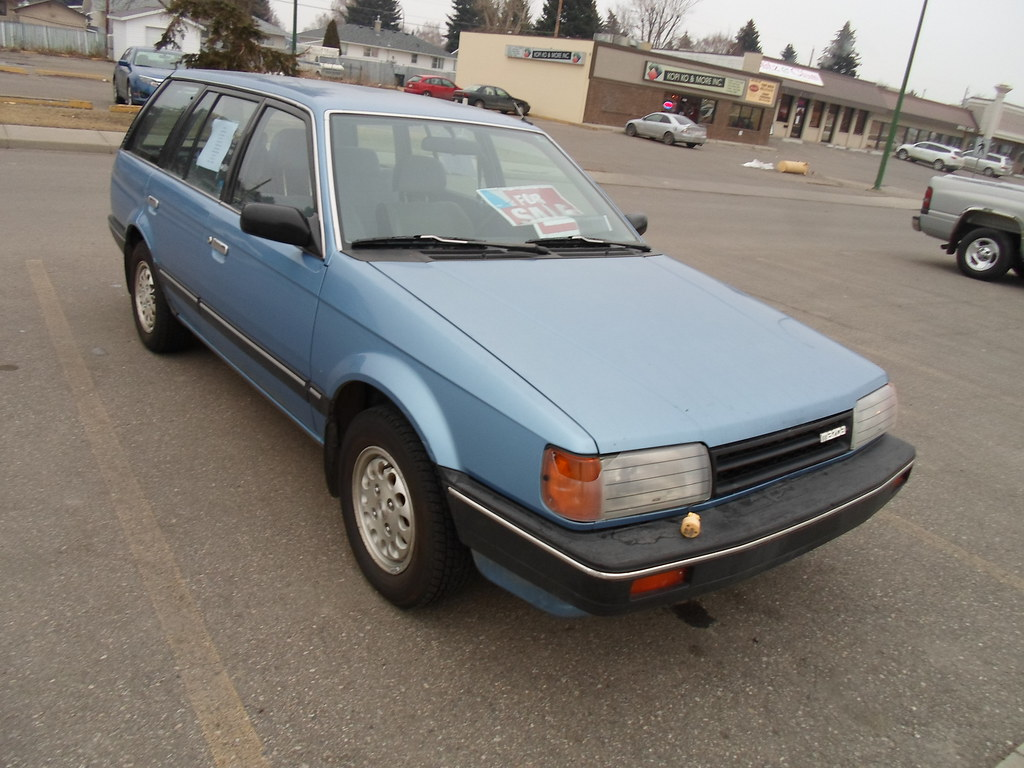 1986 Mazda 323 Lx Station Wagon