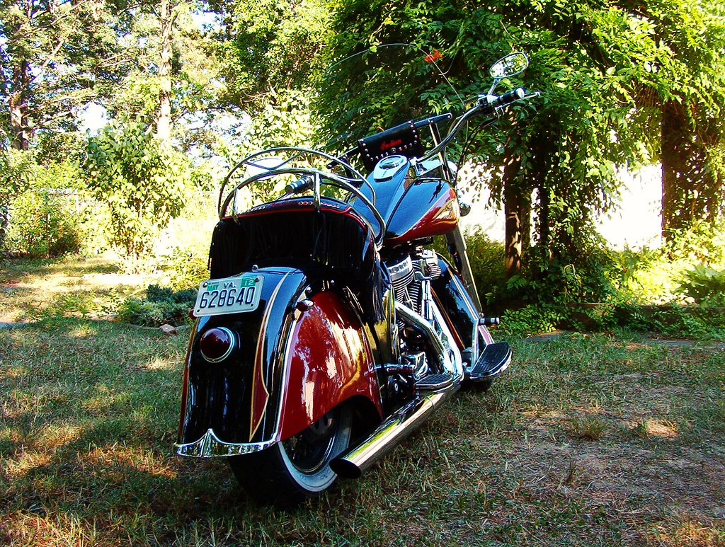 2002 Indian Chief Roadmaster Powerplus 100 Motorcycle With