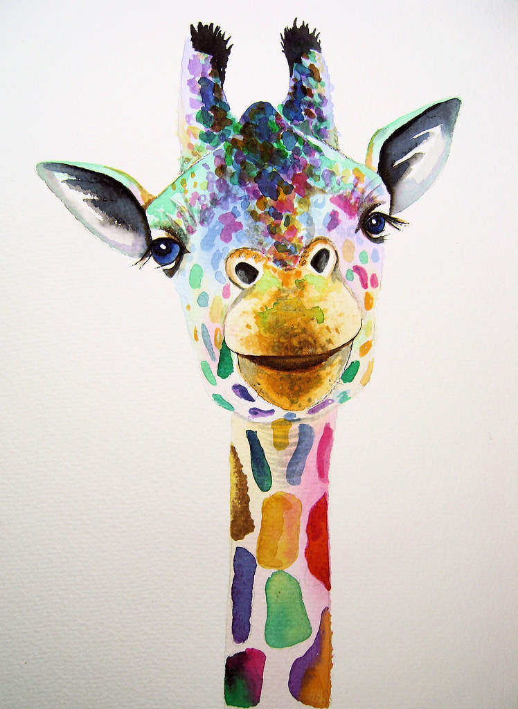 Colorful Animal Painting Artist