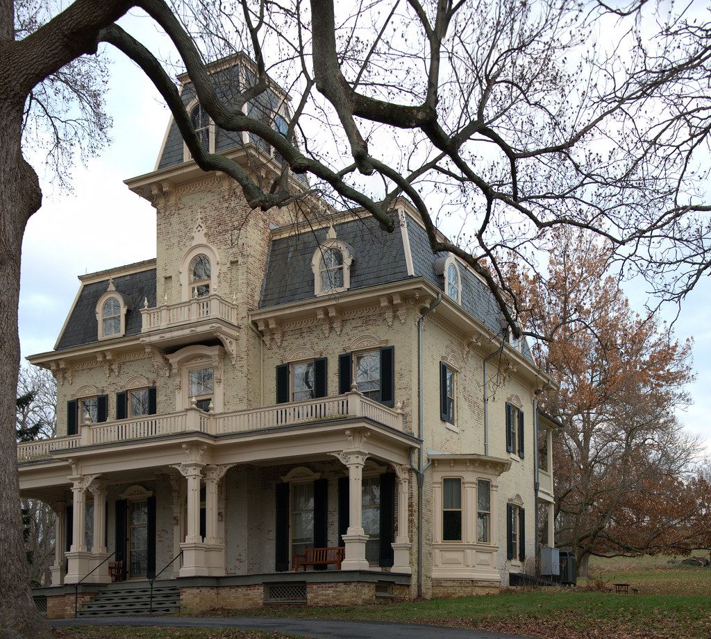 Gambrill House Frederick Md 20121208 Stitched Panorama