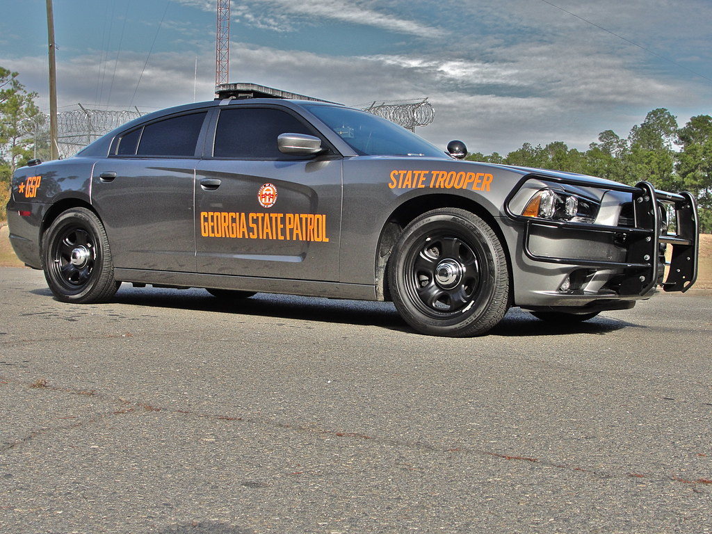 Georgia state patrol dodge charger special thanks to the g flickr - Chp call log paint ...