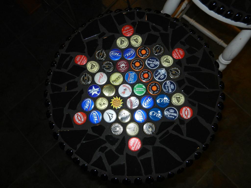 Beer Cap Bar Stools Wip Found These Great Bar Stools At