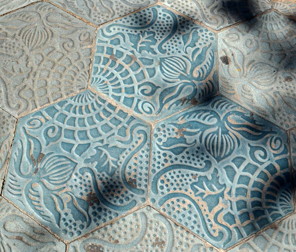 Gaudi\'s Floor Tiles [Barcelona - 14 September 2012]   Flickr