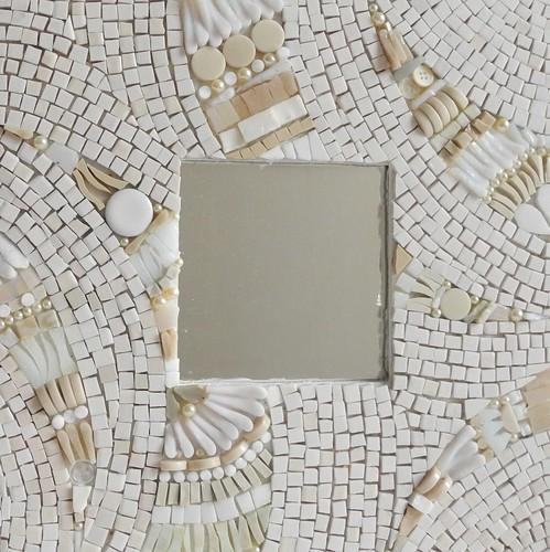 miroir mosa que monochrome miroir monochrome d coratif