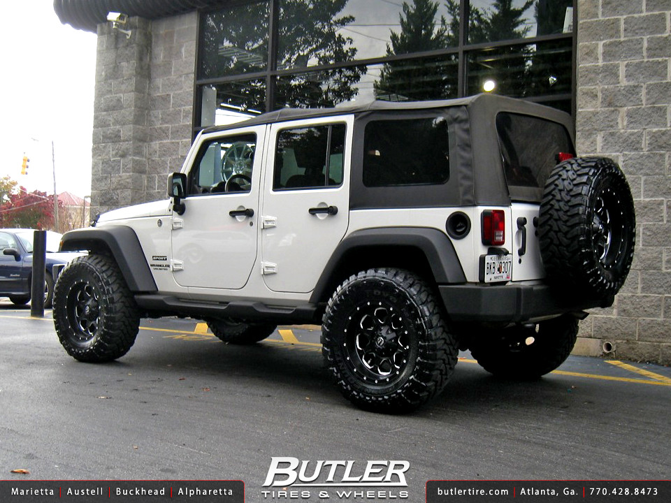 Jeep Wrangler With 18in Fuel Boost Wheels Additional
