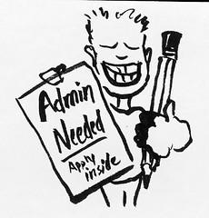 Urban Sketchers Group Admins Needed by sketchySteven