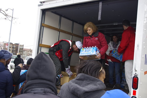 Gail McGovern in Coney Island, NY | by American Red Cross