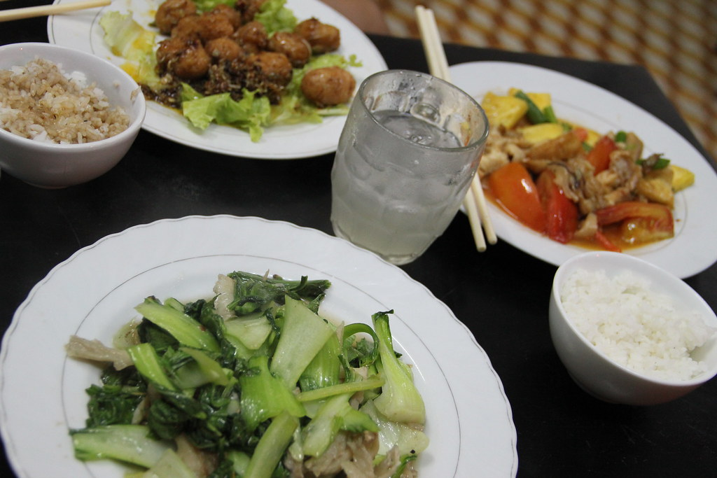 Comida vegetariana Hue · Vietnam