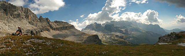 Gli Orti della Regina, Brenta Group. Italian Dolomites.