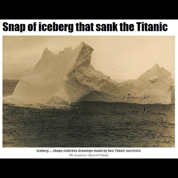 Titanic Iceberg THIS Is The Iceberg That Sank The #Titanic