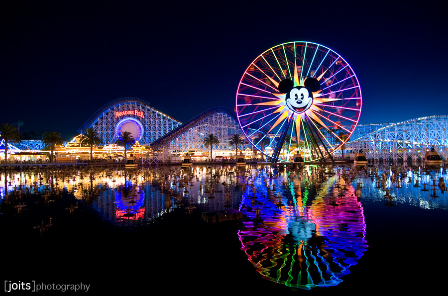 christmas time at disneyland by joits