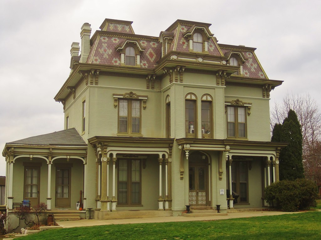 John Gilbert, Jr Mansion, Ypsilanti, MI. Image credit: Doug Copeland, flickr