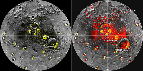 NASA's MESSENGER Finds New Evidence for Water Ice at Mercury's Poles | by NASA Goddard Photo and Video