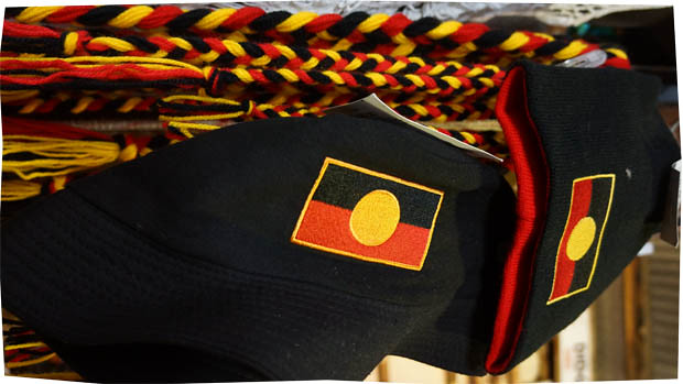 ... Aboriginal Flag Bucket Hat at Fremantle Markets  a86b9f1fc95