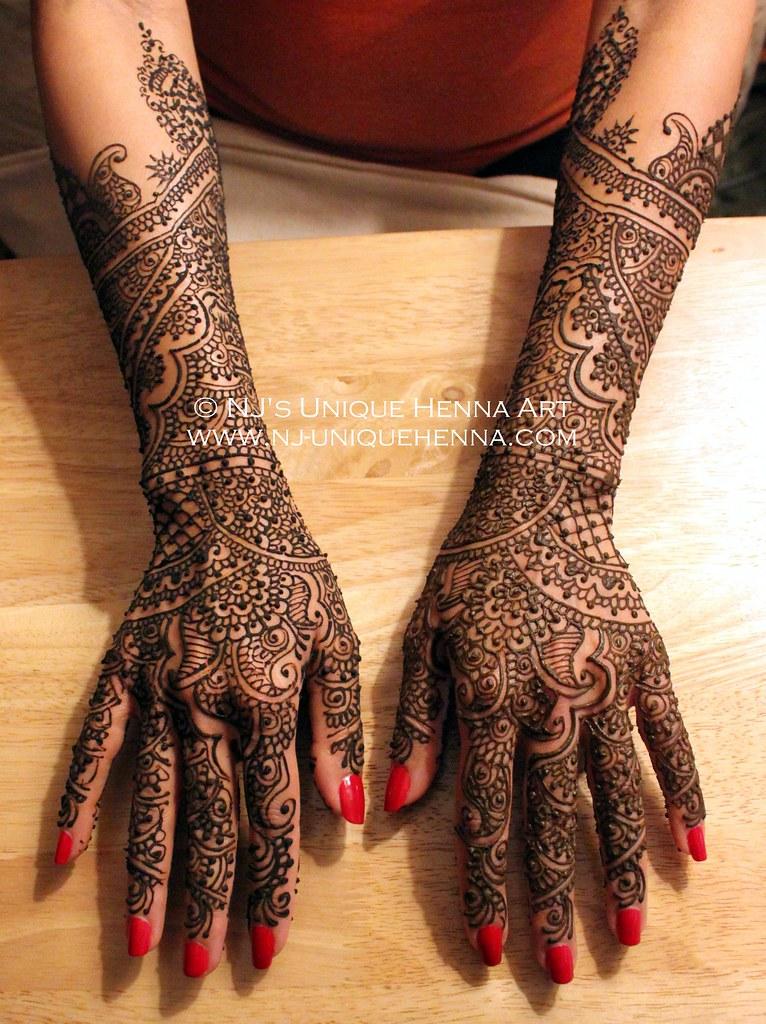 Bridal Mehndi Rates Nj : Nina s bridal henna nj unique art