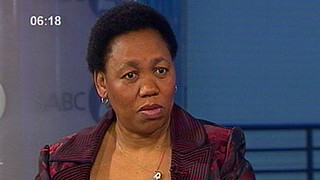 Angie Motshekga, president of the African National Congress Women's League. The ANCWL is a major component of the ruling party. She is currently the Minister of Basic Education. | by Pan-African News Wire File Photos
