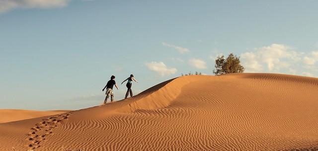 Subiendo la duna