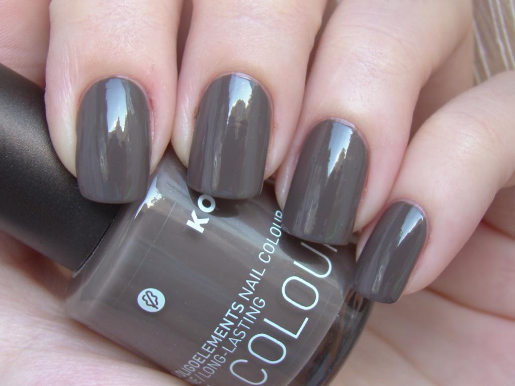 Korres Grey Brown   2 coats, natural light   milk_lizard   Flickr