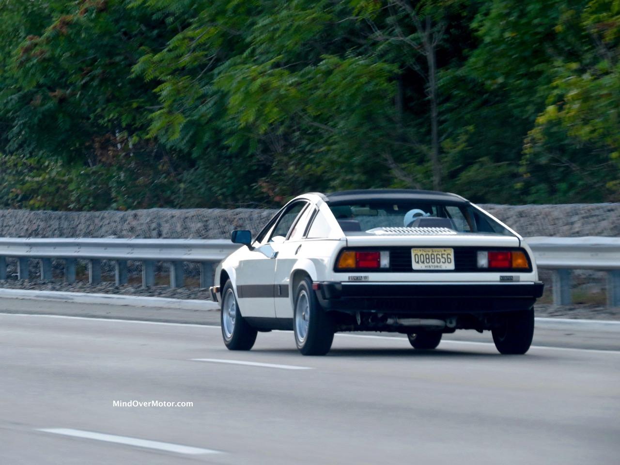 Lancia Scorpion Rear