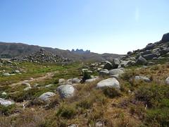 Aiguilles de Bavedda depuis cette portion du sentier de Quenza