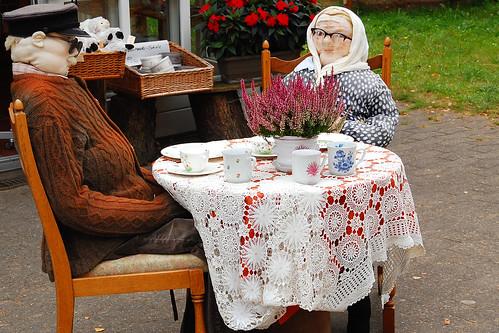 Oma und Opa in der Lüneburger Heide - Foto: Brigitte Stolle 2016
