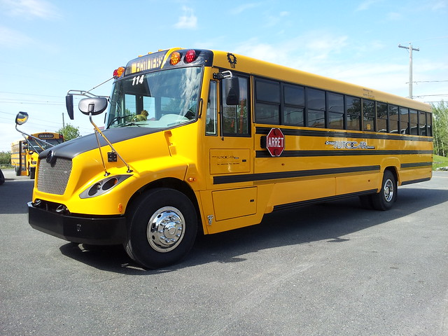 Autobus Scolaire Modifié