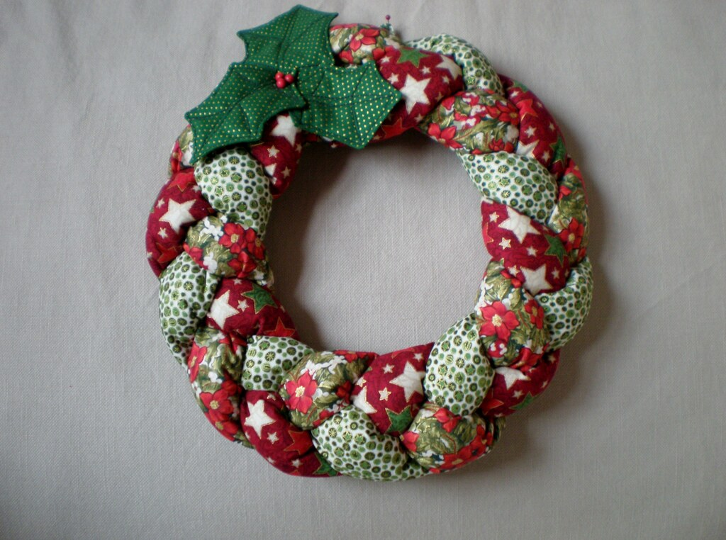 Cloth Wreaths Crafts