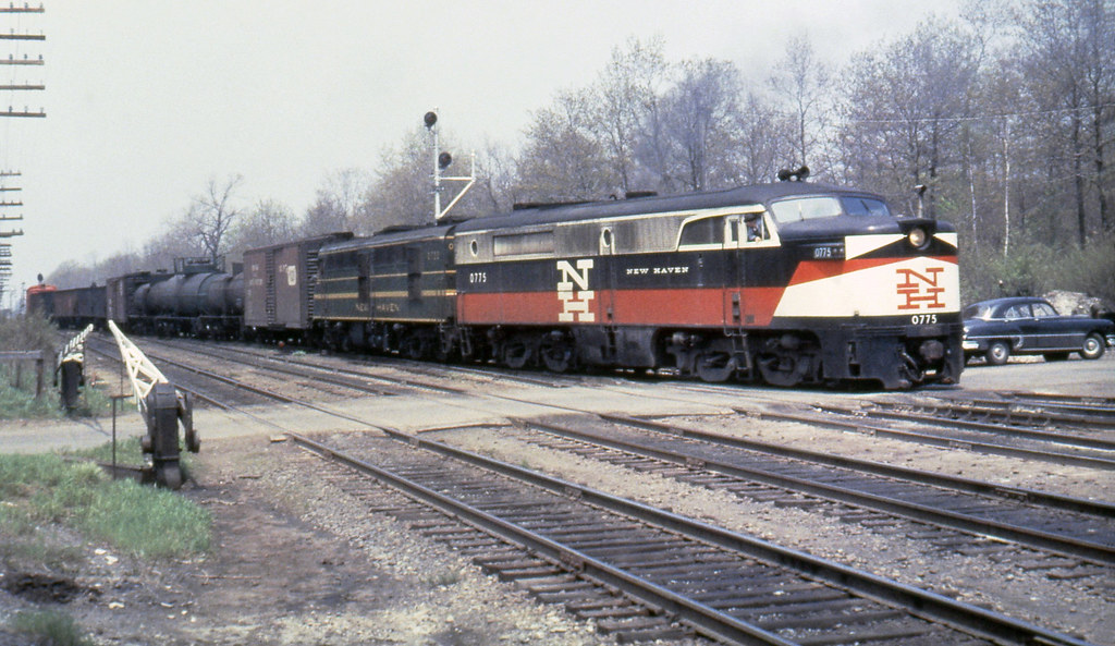 New haven railroad der 3a alco pa 1 0775 amp der 1b alco d flickr