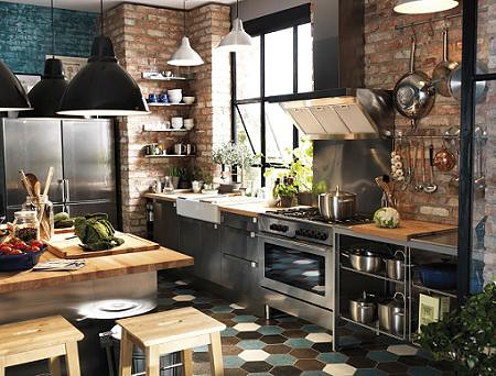 Dise o interiores estilo industrial vives2013 flickr for Diseno interiores 3d