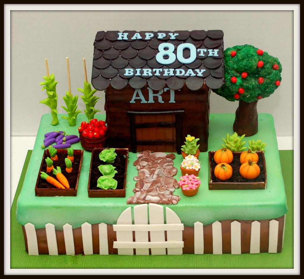 Vegetable Garden Cake | Bellina Cakes | Flickr