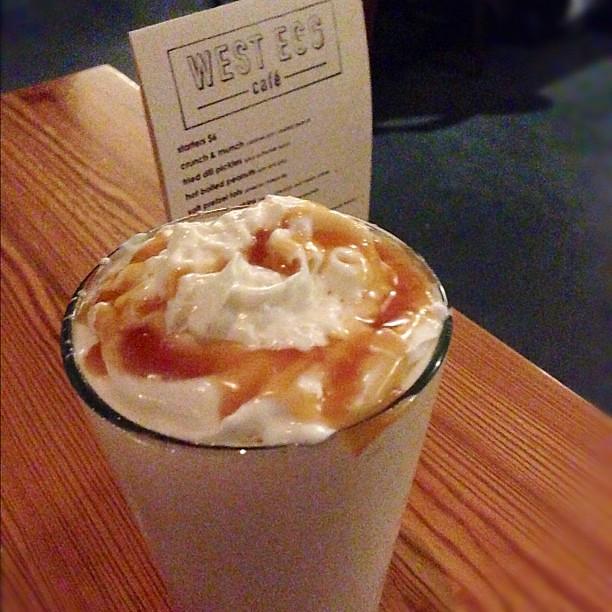 Salted caramel milkshake FTW | Flickr - Photo Sharing!