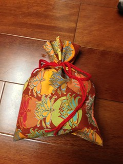 5 minute bag with yarn tie | by lydigann