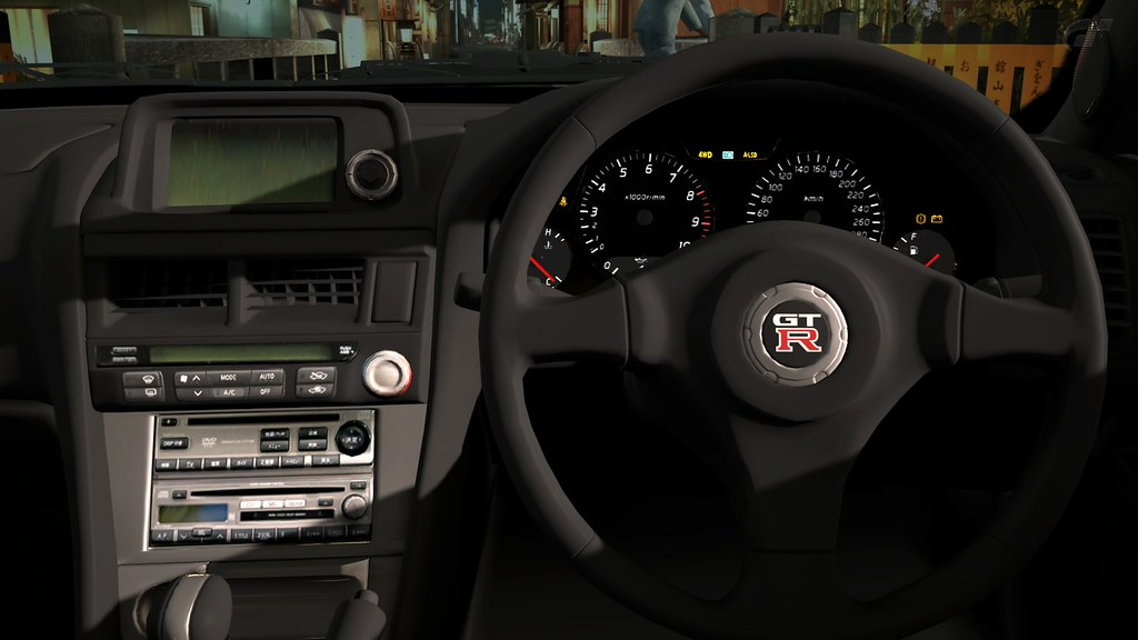 Nissan R34 Interior >> Nissan Skyline R34 GTR Interior | Gran Turismo 5 | GTR5000 | Flickr