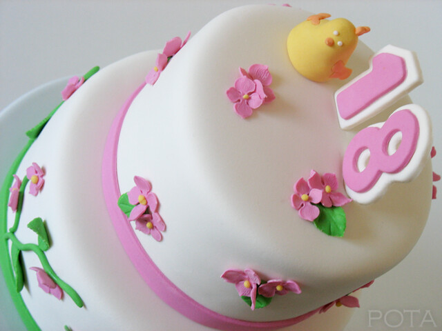 G teau d 39 anniversaire pour les 18 ans flickr photo sharing - Gateau anniversaire adulte photo ...