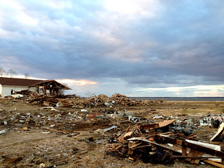 Wreckage from Hurricane Sandy | by Wavian